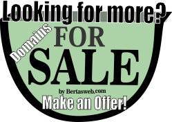 Domains for sale dot com