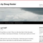 Kesler Dents Plus Basic site using a standard WordPress theme.