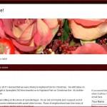 Screen shot of iRoberta.com a personal blog/website.