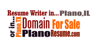 PlanoResume.com is for Sale