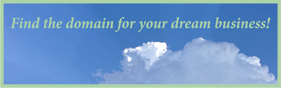 Find your dream domain name
